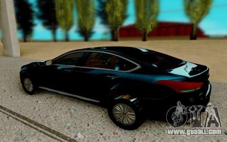 Hyundai Genesis G380 for GTA San Andreas
