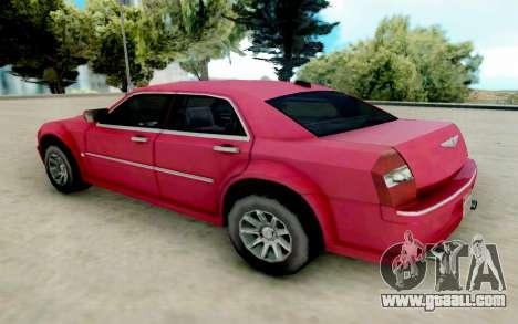 Chrysler 300C 2008 for GTA San Andreas back left view