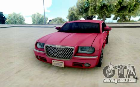 Chrysler 300C 2008 for GTA San Andreas