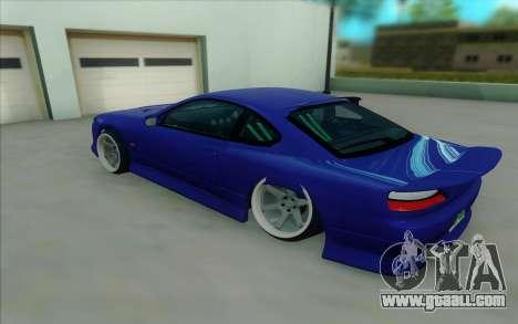Nissan Silvia S15 for GTA San Andreas