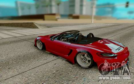Porsche Cayman for GTA San Andreas right view