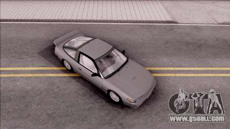 Nissan 240SX SilForty for GTA San Andreas right view