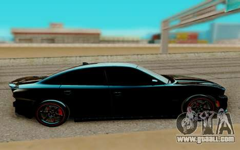 Dodge Charger RT 2015 for GTA San Andreas left view
