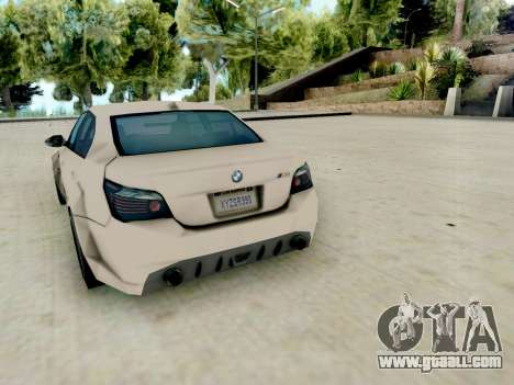 BMW M5 E60 Lumma Edition for GTA San Andreas right view