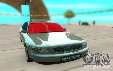 Audi S8 for GTA San Andreas