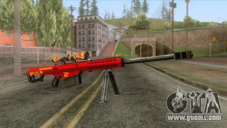 Barrett M82A1 Anti-Material Sniper Rifle v2 for GTA San Andreas