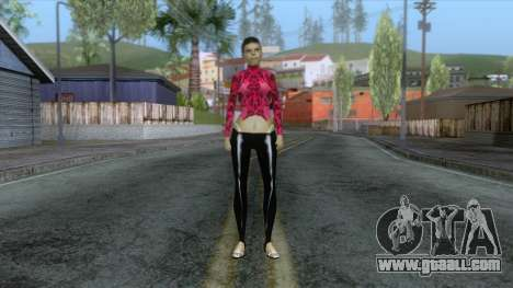 New Bfybe Skin for GTA San Andreas second screenshot