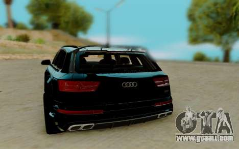 Audi QS7 ABT for GTA San Andreas