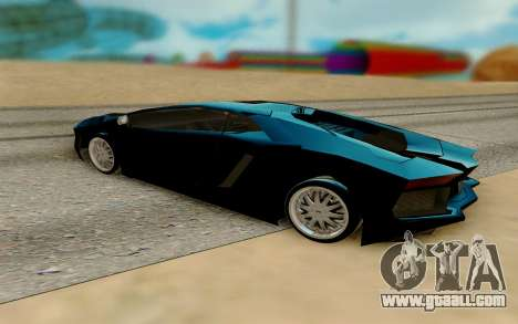 Pegassi Avento for GTA San Andreas right view