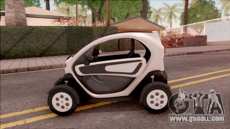 Renault Twizy 2012 for GTA San Andreas left view
