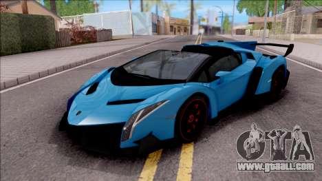 Lamborghini Veneno Roadster for GTA San Andreas