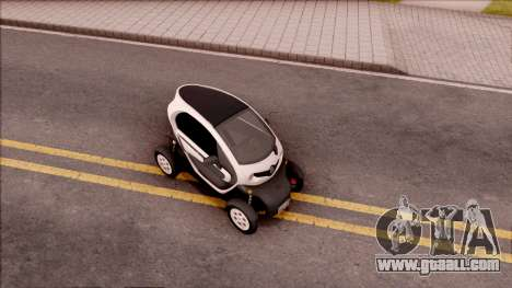 Renault Twizy 2012 for GTA San Andreas right view