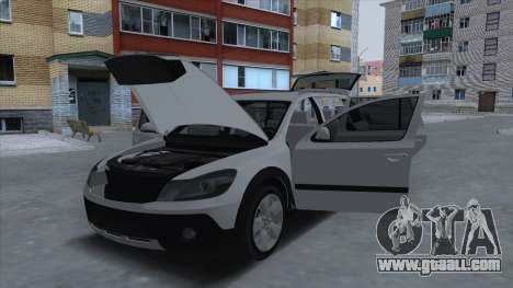 Skoda Octavia Scout for GTA San Andreas