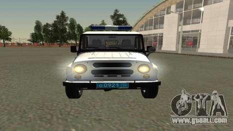 UAZ hunter PPSP (Facelift II) V0.1 for GTA San Andreas