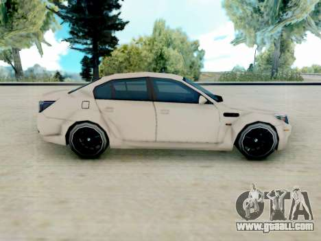 BMW M5 E60 Lumma Edition for GTA San Andreas left view