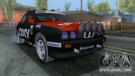 BMW M3 E30 1986 v1 for GTA San Andreas