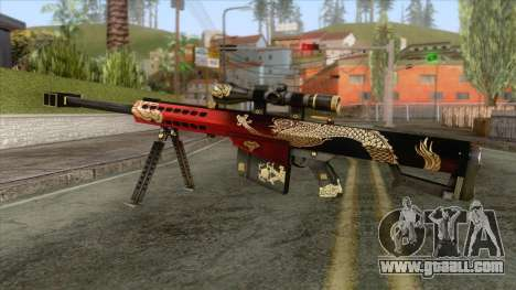 Barrett Royal Dragon v2 for GTA San Andreas