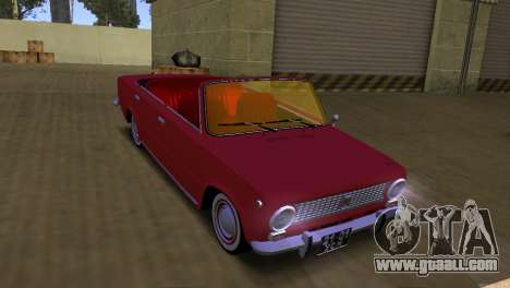 VAZ 2101 Convertible of the Soviet Union for GTA San Andreas back left view