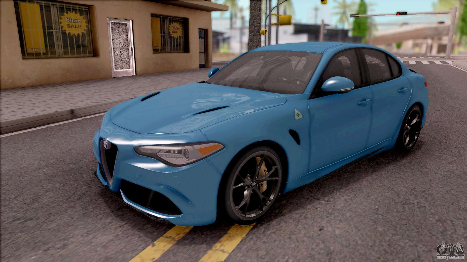 Alfa Romeo Giulia Quadrifoglio 2017 for GTA San Andreas