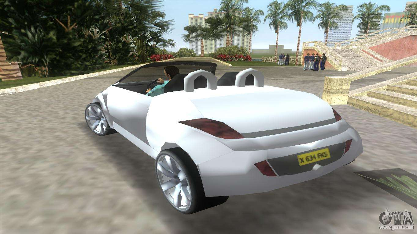 ford streetka for gta vice city. Black Bedroom Furniture Sets. Home Design Ideas