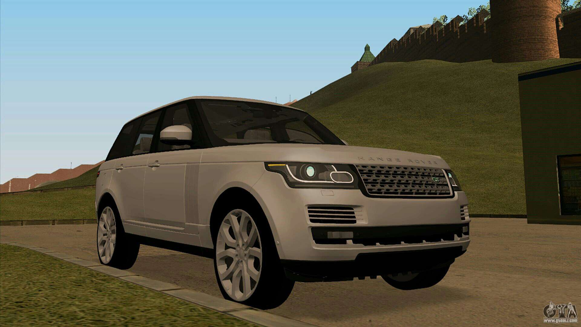 land rover range rover vogue for gta san andreas. Black Bedroom Furniture Sets. Home Design Ideas