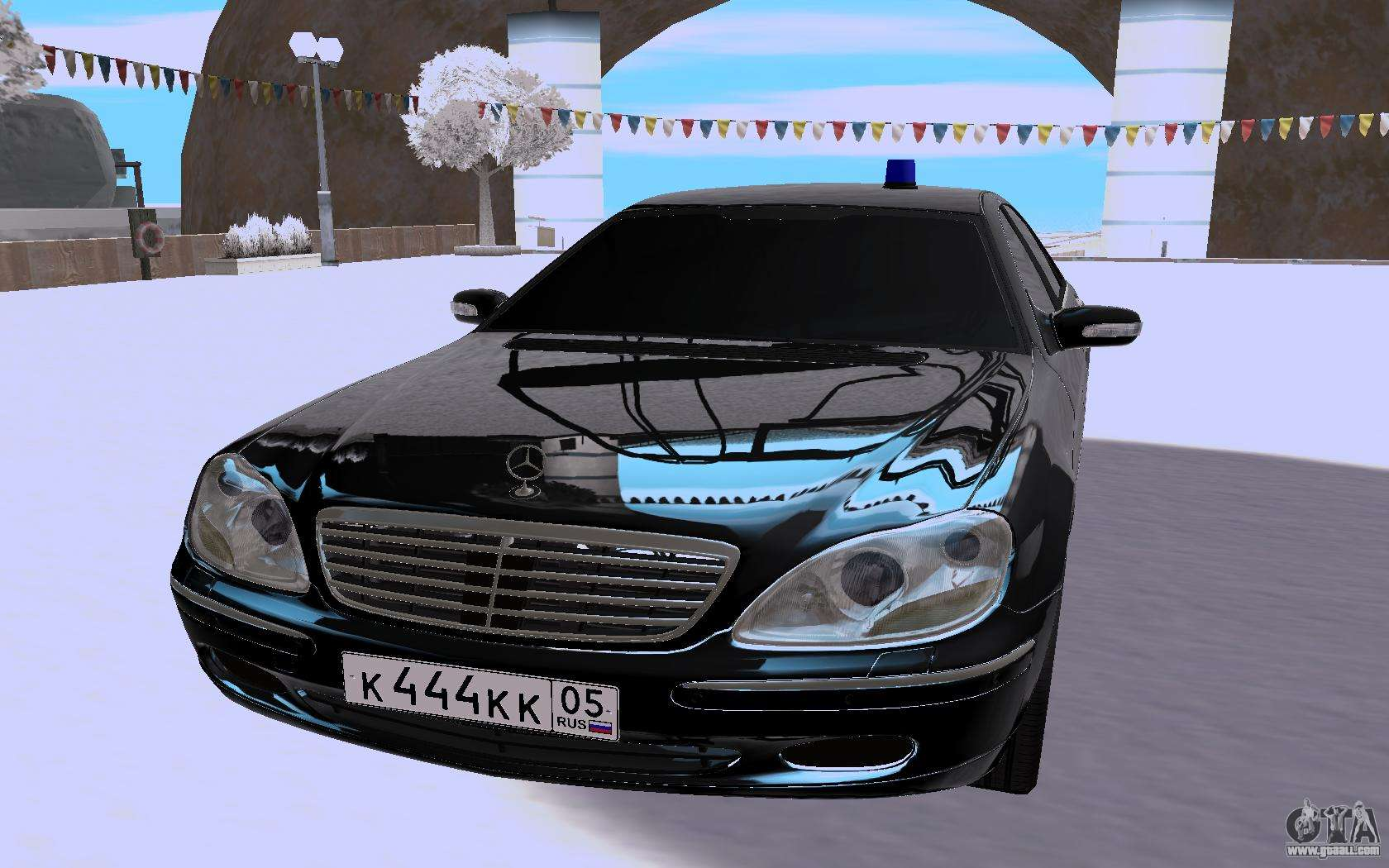 Mercedes Benz S Class W220 For Gta San Andreas