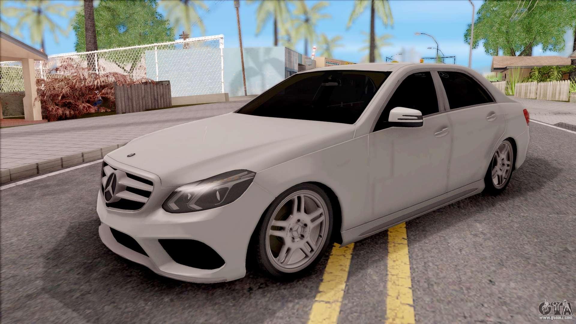 Mercedes benz e250 for gta san andreas for Mercedes benz e250