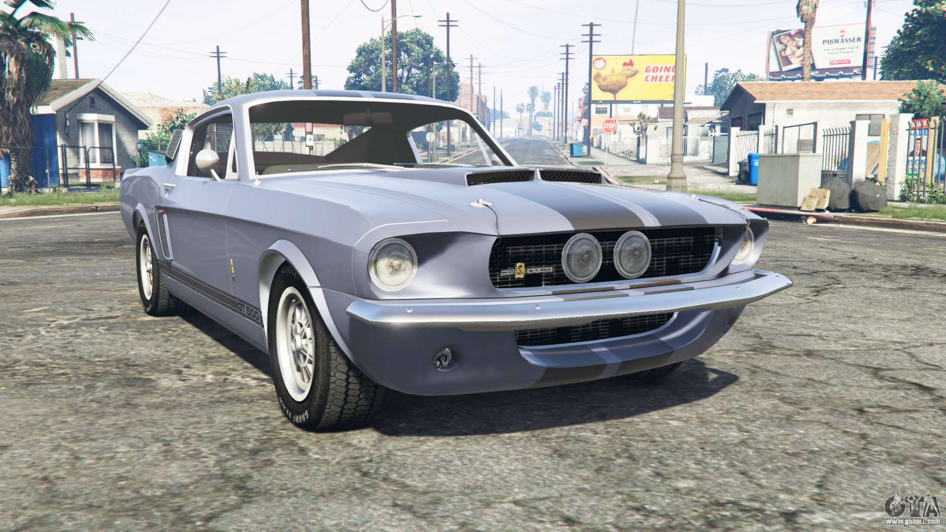 Ford mustang gt500 1967 for gta 5 the car class pony car to replace the vapid hotknife
