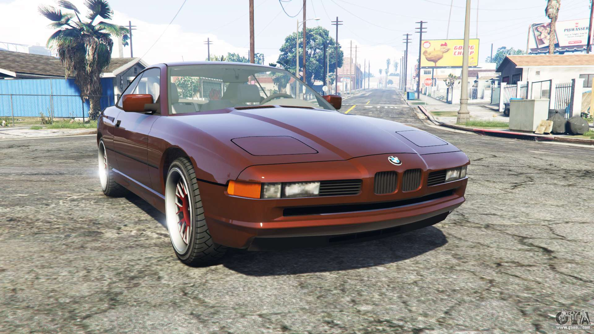 bmw 850i e31 replace for gta 5. Black Bedroom Furniture Sets. Home Design Ideas