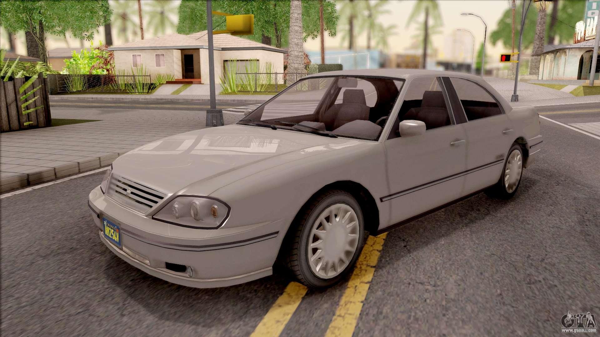 GTA IV Willard Solair Sedan for GTA San Andreas