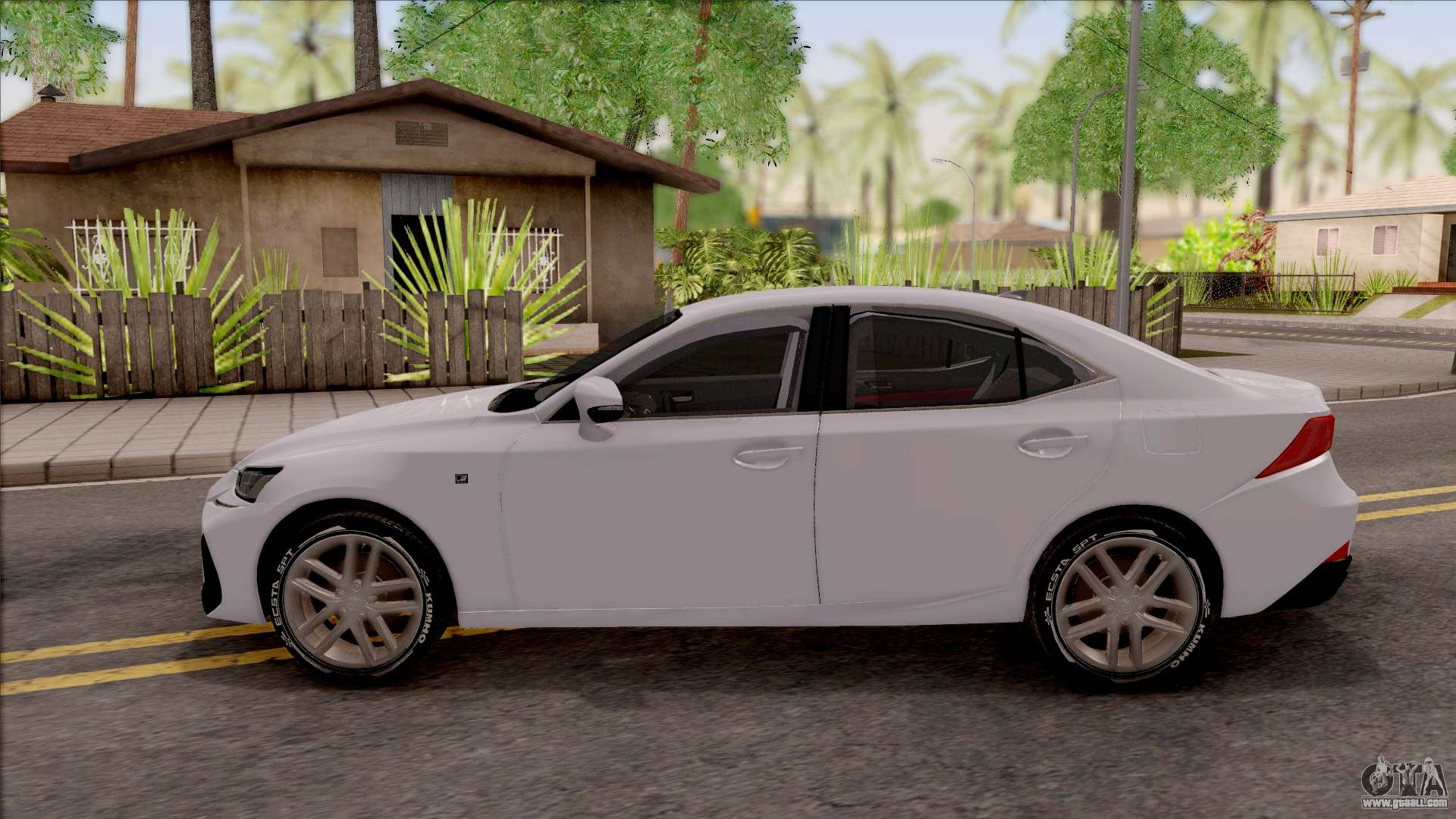 lexus is xe30 200t f sport 2017 for gta san andreas. Black Bedroom Furniture Sets. Home Design Ideas