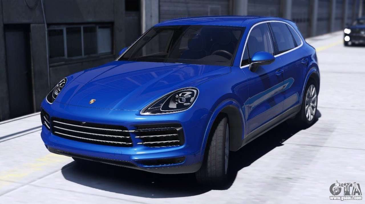 porsche cayenne s 2018 for gta 5. Black Bedroom Furniture Sets. Home Design Ideas