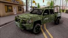 Chevrolet Silverado Auto Militar De Guatemala for GTA San Andreas