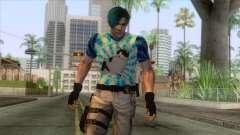 Leon Cat Lover Skin for GTA San Andreas