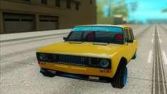 VAZ 2106 yellow for GTA San Andreas