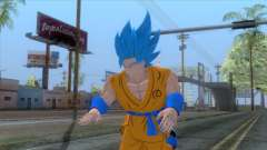 Goku SSJ2 Blue Skin for GTA San Andreas