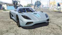 Koenigsegg Agera N 2011 [replace] for GTA 5