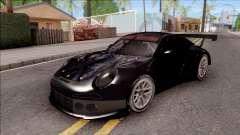 Porsche 911 RSR Itasha Neptunia Hyperdimension for GTA San Andreas