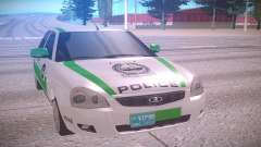 Lada Priora white for GTA San Andreas