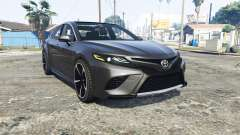 Toyota Camry XSE 2018 [replace] for GTA 5