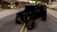 Jeep Wrangler Rubicon Off-Road for GTA San Andreas