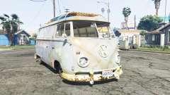 Volkswagen Typ 2 (T1) 1960 rat [replace] for GTA 5