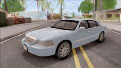 Lincoln Town Car L Signature 2010 IVF No Dirt for GTA San Andreas