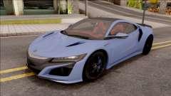 Acura NSX 2016 for GTA San Andreas