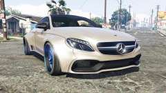 Mercedes-Benz C 63 S AMG widebody [add-on] for GTA 5