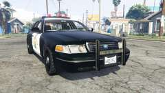 Ford Crown Victoria Highway Patrol [replace] for GTA 5
