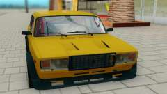 2107 yellow for GTA San Andreas