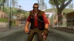 Team Fortress 2 - Sniper Skin v2 for GTA San Andreas