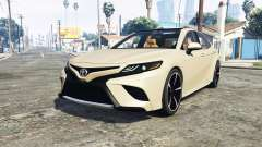 Toyota Camry XSE 2018 [add-on] for GTA 5