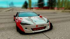 Subaru BRZ red for GTA San Andreas